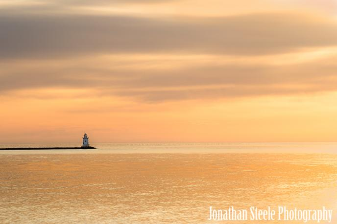 Shooting the Saybrook Breakwater Lighthouse - Jonathan Steele Photography